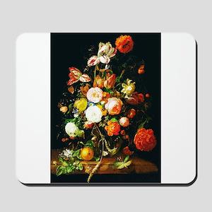 Rachel Ruysh Flower Bouquet Mousepad