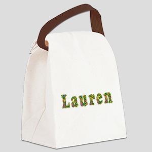 Lauren Floral Canvas Lunch Bag