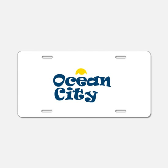 Ocean City NJ. Aluminum License Plate