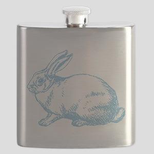 White Rabbit Flask