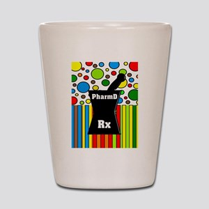 pharmD necklace 2 Shot Glass