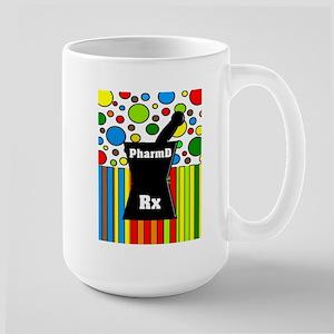 pharmD necklace 2 Large Mug