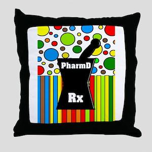 pharmD necklace 2 Throw Pillow
