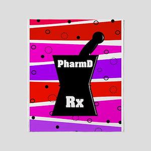 pharmD necklace Throw Blanket