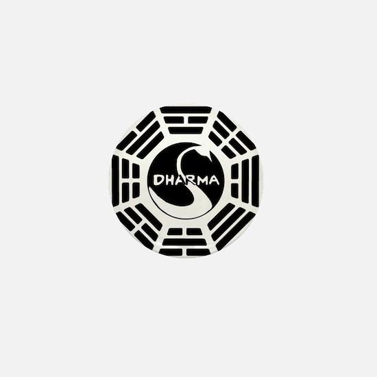 LOST DHARMA MUG Mini Button