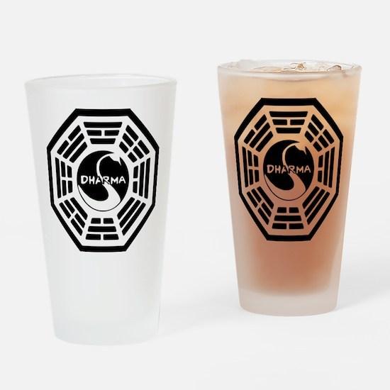 LOST DHARMA MUG Drinking Glass