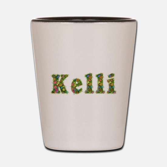 Kelli Floral Shot Glass