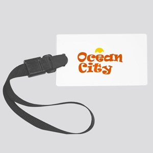 Ocean City NJ. Large Luggage Tag