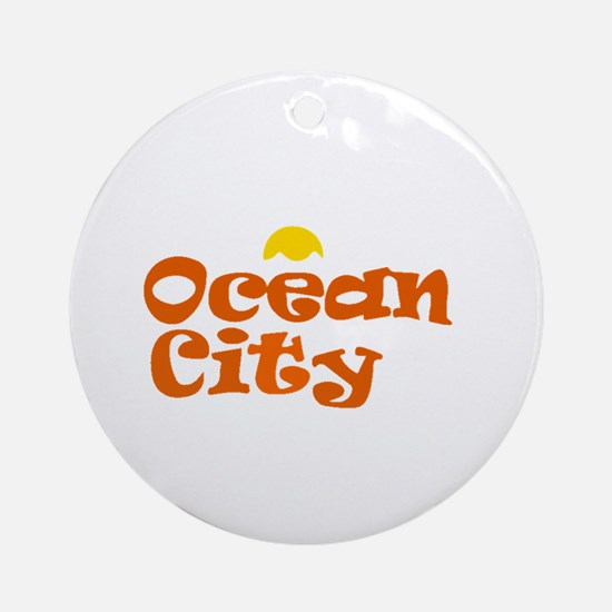 Ocean City NJ. Ornament (Round)