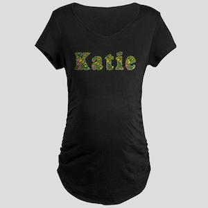 Katie Floral Maternity Dark T-Shirt
