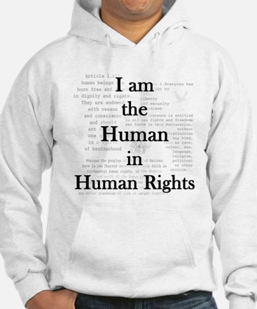 I am Human Rights Hoodie