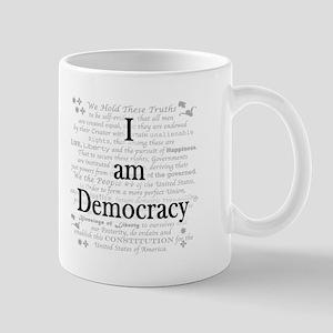 I am Democracy Mug