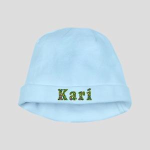 Kari Floral baby hat