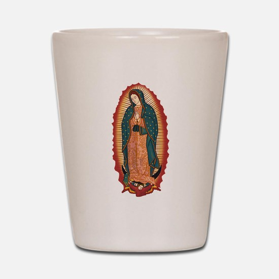 Virgin Of Guadalupe Shot Glass