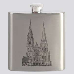 Chartres Cathedral Flask