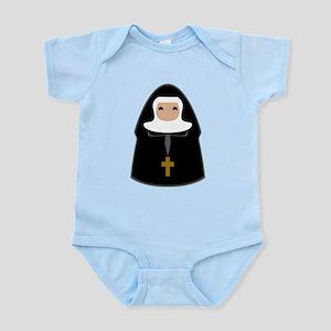 Cute Nun Infant Bodysuit