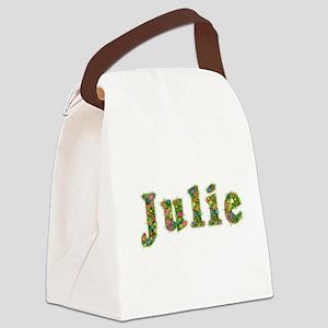 Julie Floral Canvas Lunch Bag