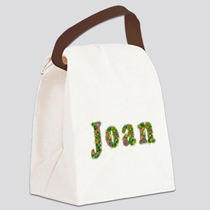 Joan Floral Canvas Lunch Bag