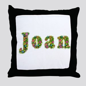 Joan Floral Throw Pillow