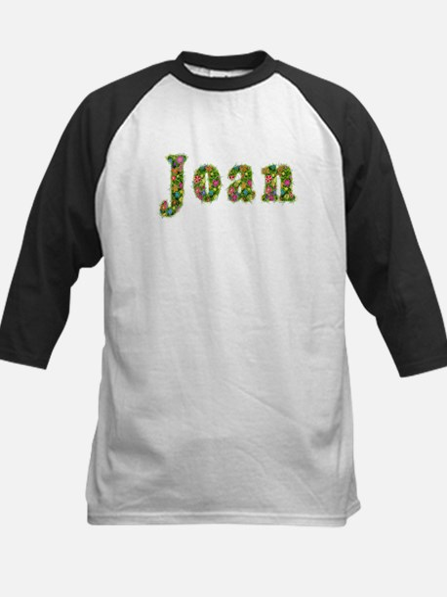 Joan Floral Kids Baseball Jersey