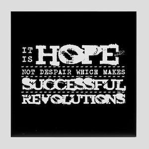 Hope Not Despair V2 Tile Coaster