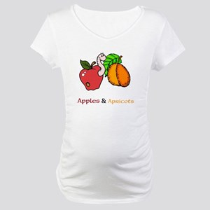 Apples Apricots Month Maternity T-Shirt