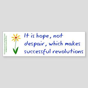 Hope Not Despair V3 Sticker (Bumper)