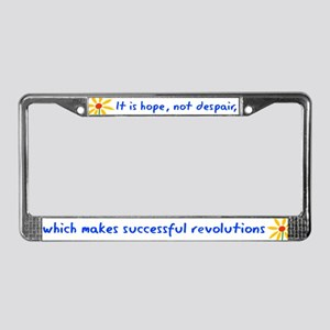 Hope Not Despair V3 License Plate Frame