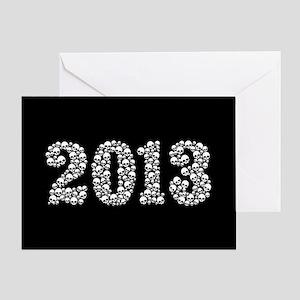 Skulls 2013 Greeting Card