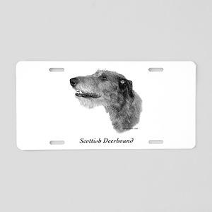 Scottish Deerhound Aluminum License Plate