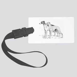 Whippet Large Luggage Tag