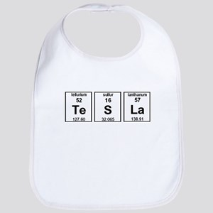 Tesla Element Symbols Bib