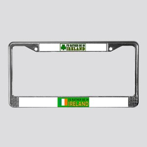 IRISH SURVIVOR License Plate Frame