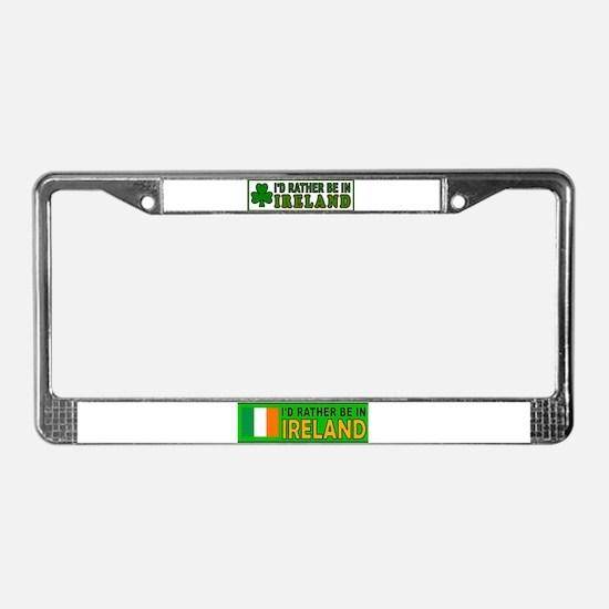 IRISH SURVIVOR License Plate Frame