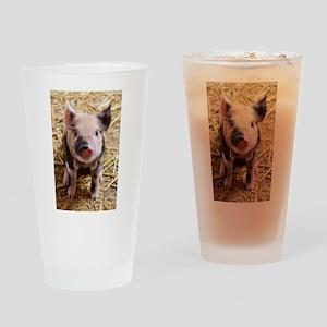 Piglet Drinking Glass