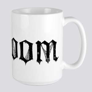 Gothic Text Groom Large Mug
