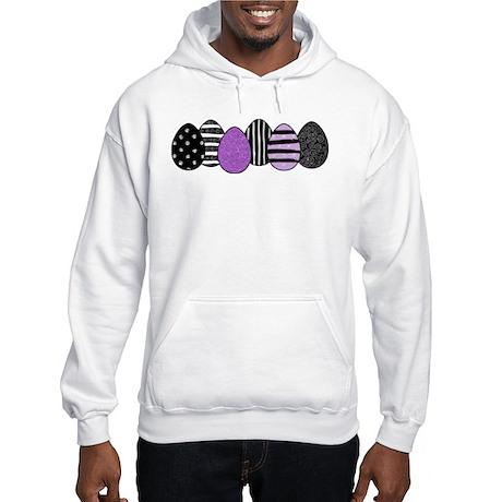 Gothic Easter Eggs Hooded Sweatshirt