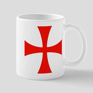 Templar Red Cross Mug