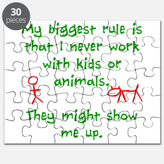 Kids or animals Puzzle