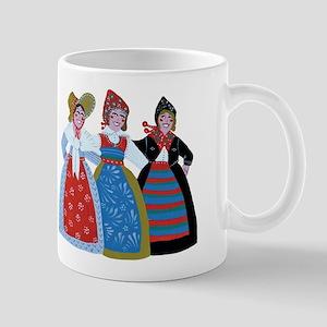 Six Women Dancing Mug