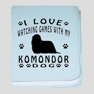 Komondor baby blanket