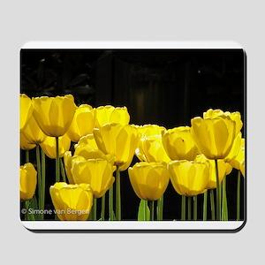 Yellow Tulips Mousepad