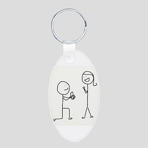Palo Proposes Aluminum Oval Keychain