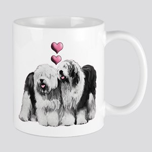 Ole English Sheepdog Pair Mug