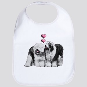 Ole English Sheepdog Pair Bib
