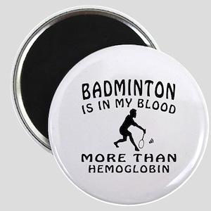 Badminton Designs Magnet