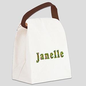 Janelle Floral Canvas Lunch Bag