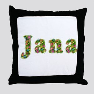 Jana Floral Throw Pillow