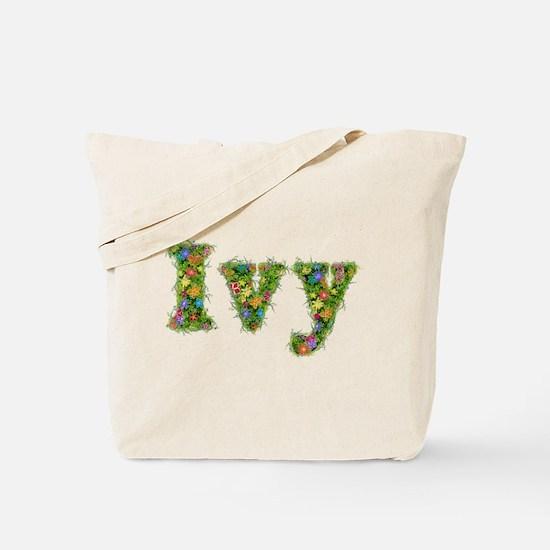 Ivy Floral Tote Bag