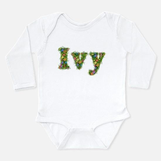 Ivy Floral Long Sleeve Infant Bodysuit